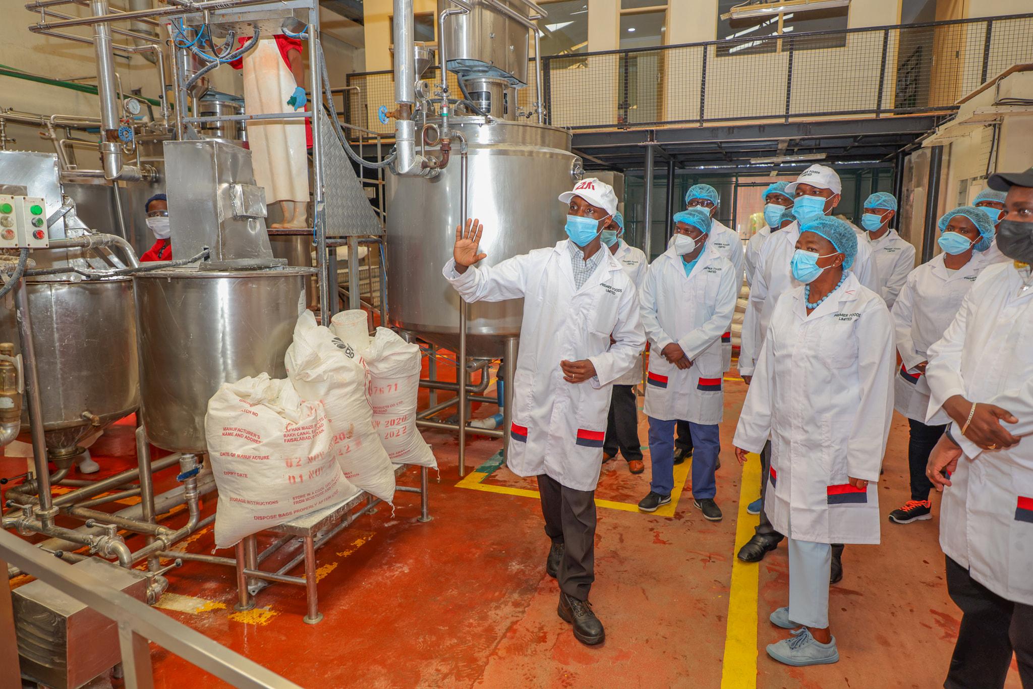 Visit of, Premier Foods Industries at Nairobi County